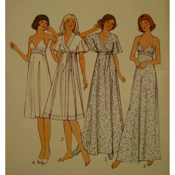 bcc8b7456b Shoestring Strap Nightgown Pattern