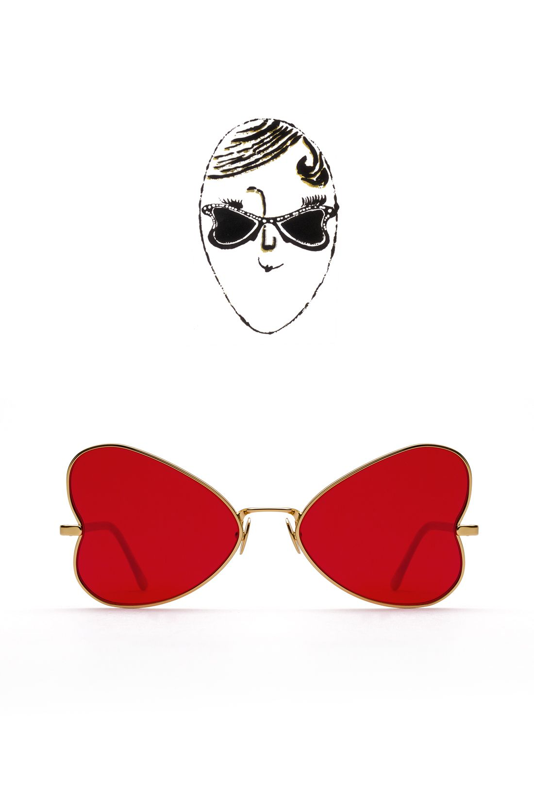 What Happens When Retrosuperfuture Takes On Andy Warhol S Archive For A Sunglasses Collaboration Gal Retrosuperfuture Sunglasses Andy Warhol Retrosuperfuture