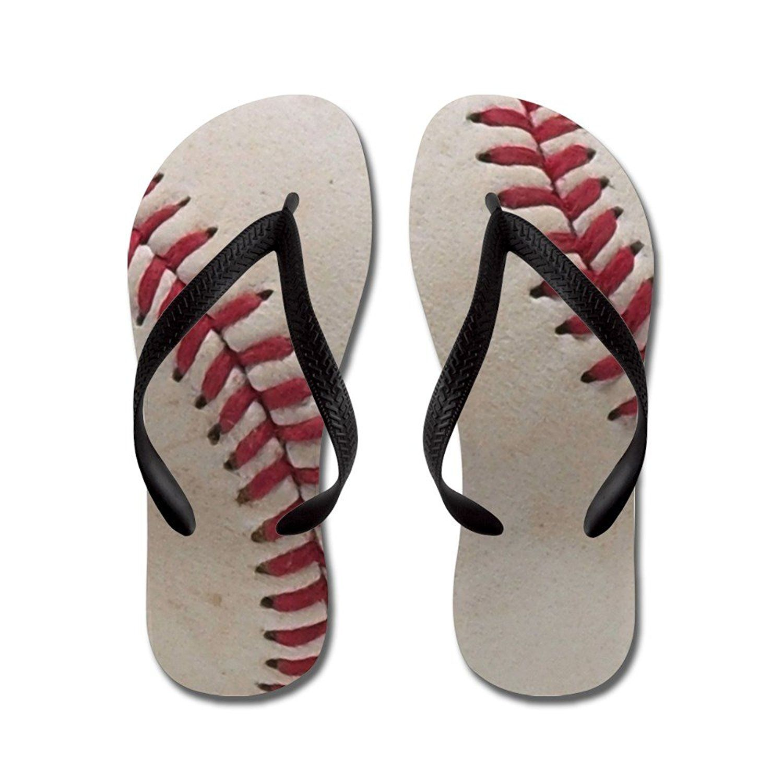 905f5708b8b9 CafePress - Baseball - Flip Flops