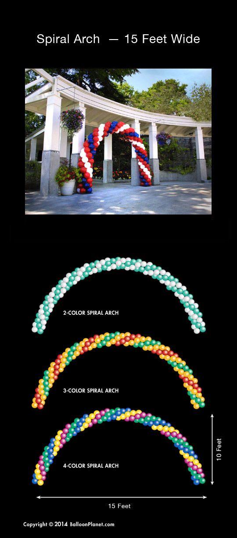 30 Pcs Spiral Latex Mixed Color Long Balloons Party Decoration Wedding Anniversa