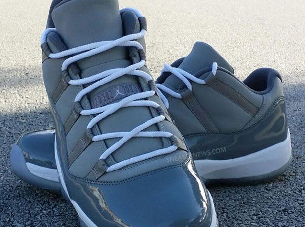 """#sneakers #news Is The """"Cool Grey"""" Air Jordan 11 Low Finally Releasing"""