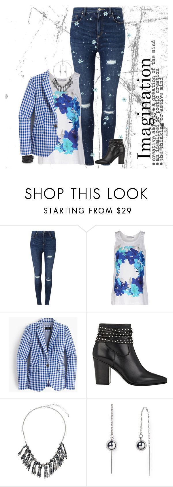 """""""Untitled #406"""" by priscilla14ster on Polyvore featuring Miss Selfridge, adidas, J.Crew, Yves Saint Laurent, Dorothy Perkins, Rebecca Minkoff, Sif Jakobs Jewellery, ootd and Diva"""