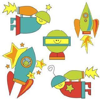 Imprimir imagenes del espacio infantiles