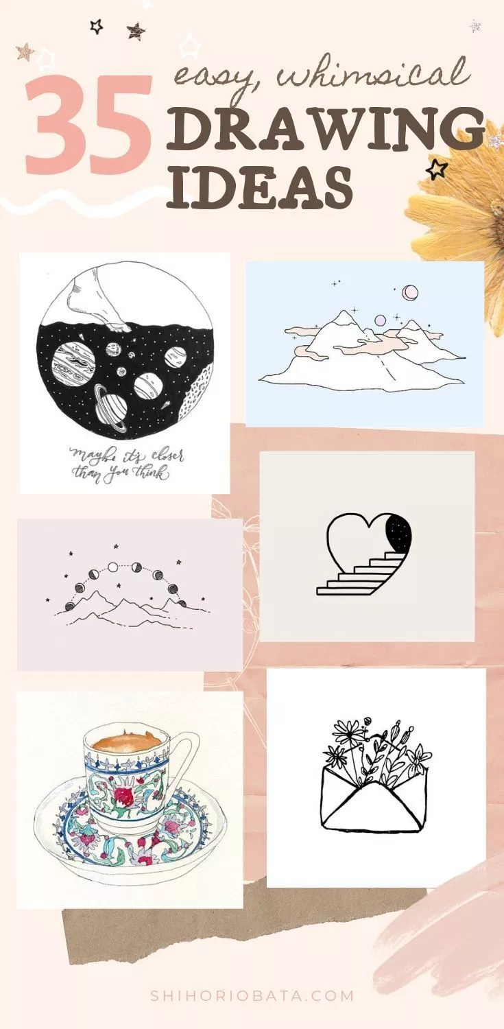 35 Cool Easy Whimsical Drawing Ideas Whimsical Art Doodle