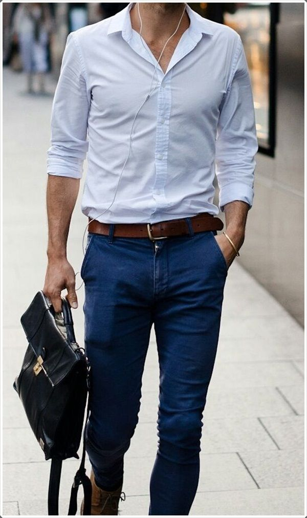 40 Best Dress Pants For Men to Look Dashing   Blue dresses ...