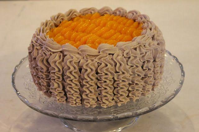 Tarun Taikakakut: Appelsiini-suklaa-täytekakku