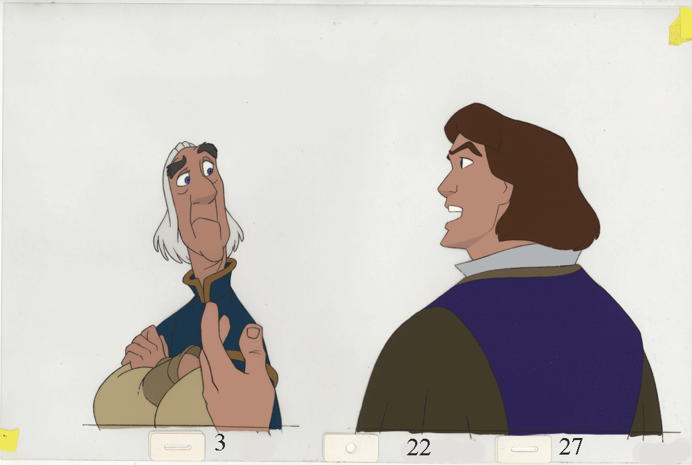 Art Cels Derek Rogers Sequence 3 22 Classic Films Swan Princess Animation Art