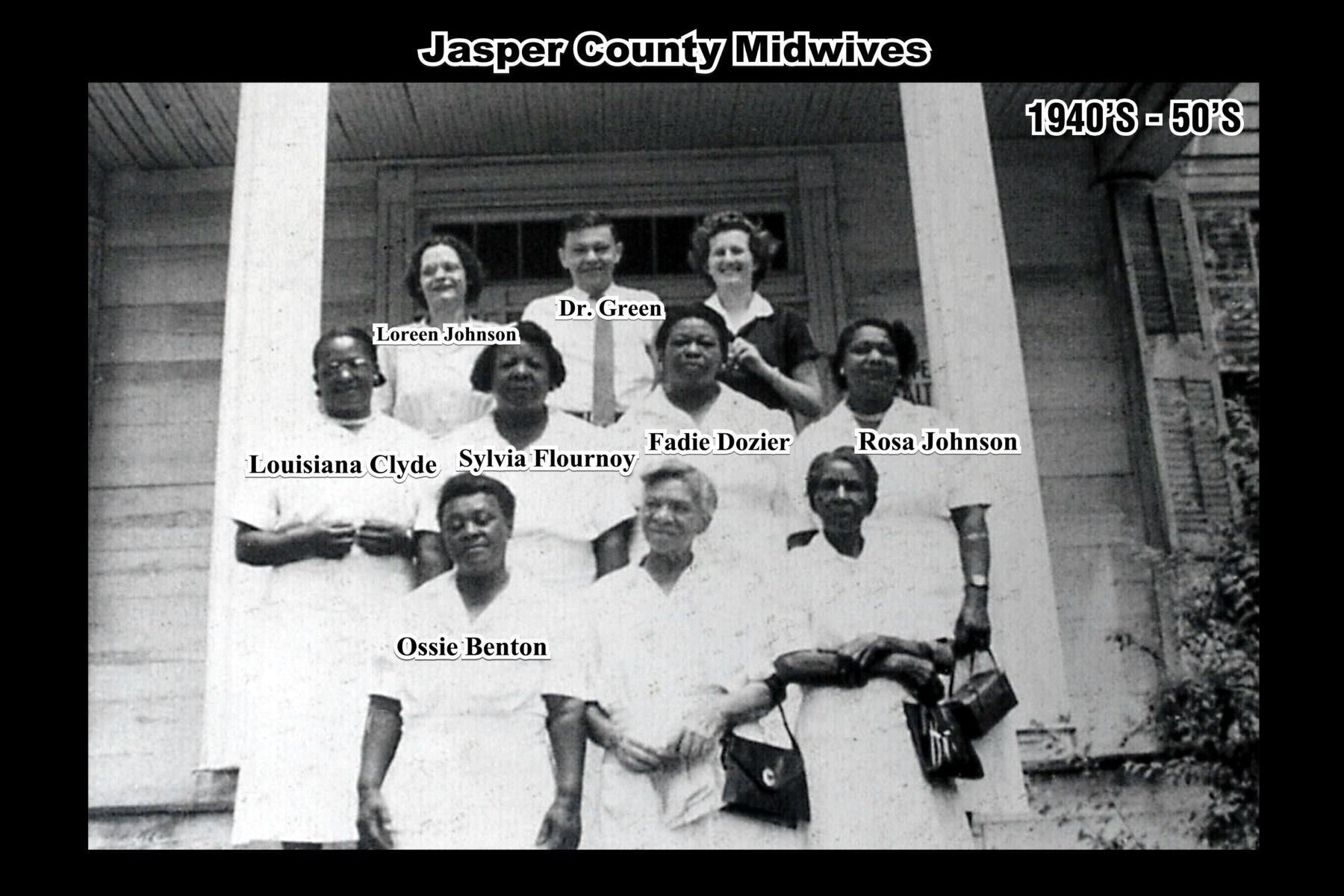 Midwives of Jasper County, GA 1940s50s Women in history