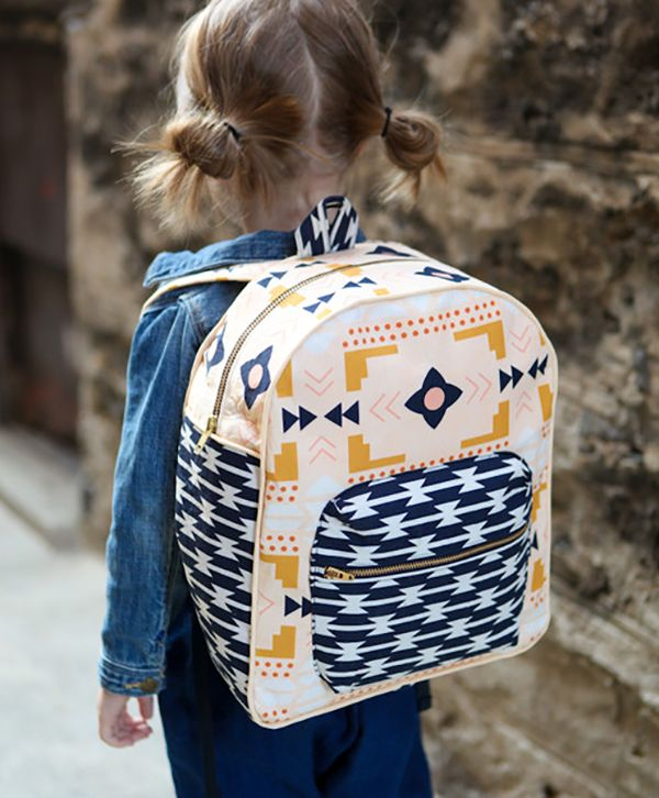 Best Tribal Sewing Projects Toddler Backpack b8da362ae6800