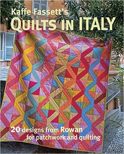 Kaffe fassett 39 s quilts in italy 20 designs from rowan for for Patchwork quilt book