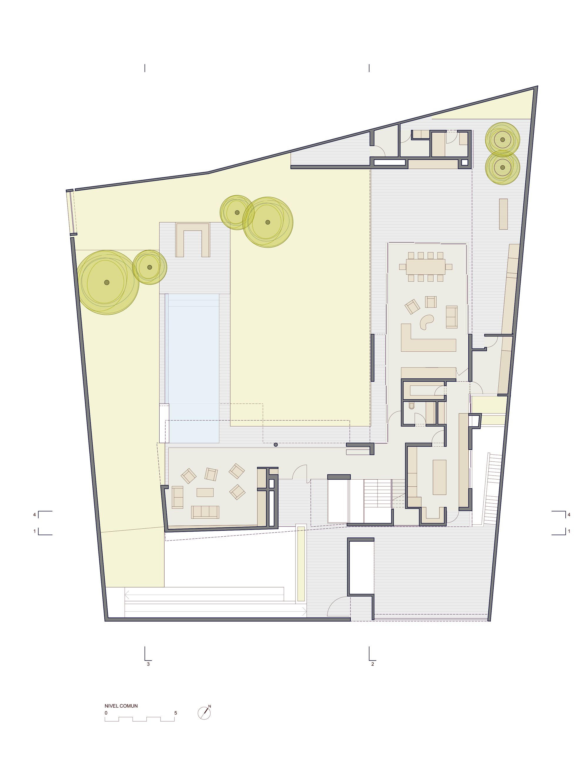 Gallery Of House D3 Barclay Crousse Architecture 20 Architecture House House Architecture Plan