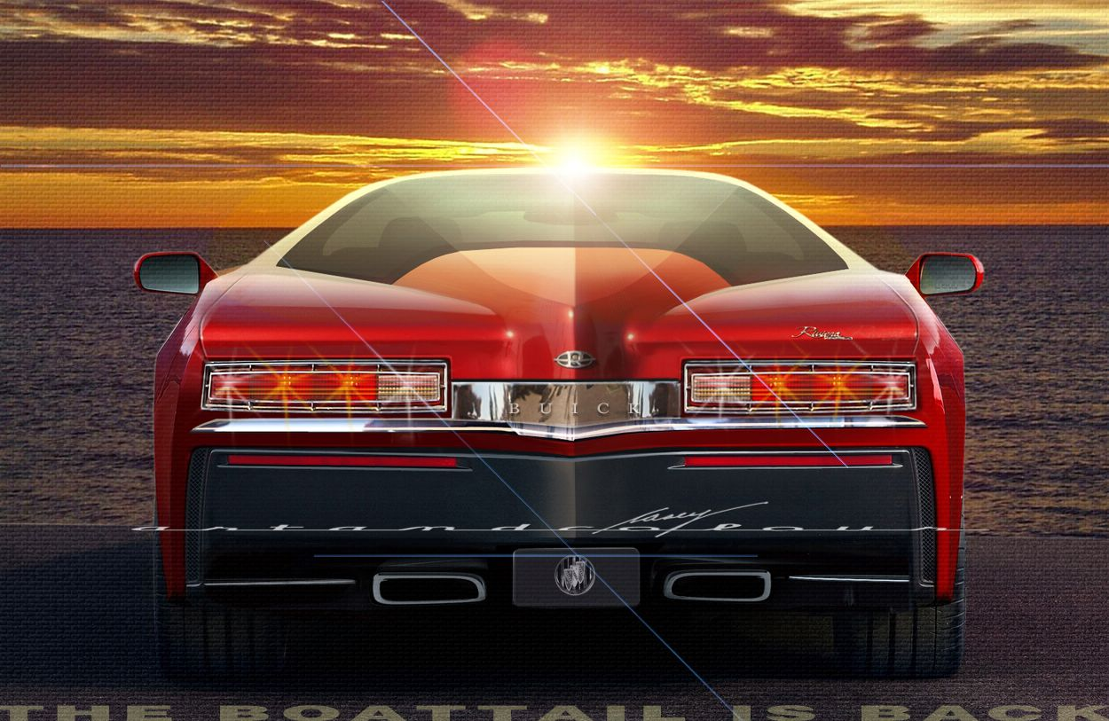 2014 Buick Riviera Boattail | 2014 Buick Riviera—The Boattail is ...