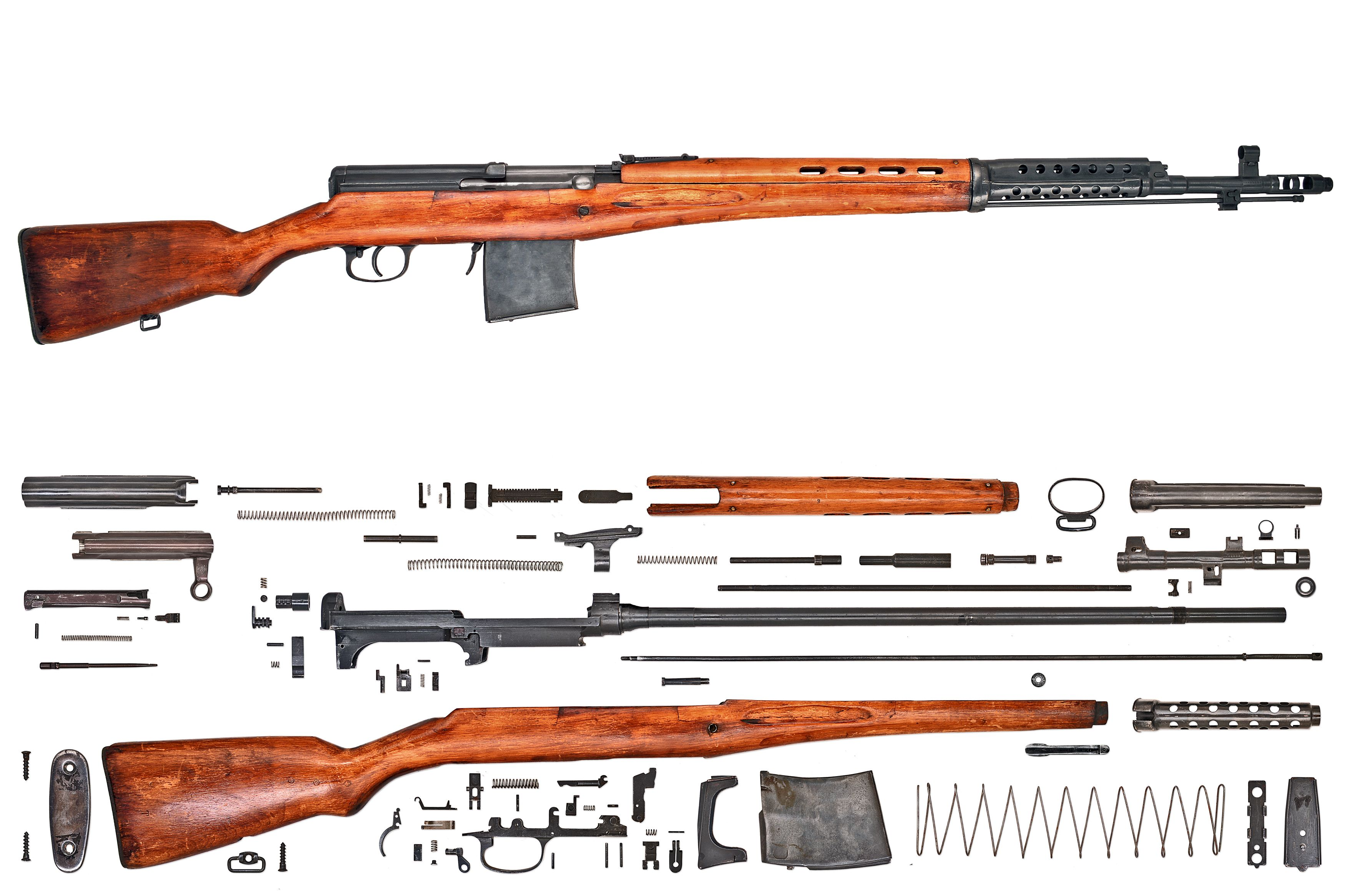 Anatomy-Rifle-USSR-SVT-40.jpg (3500×2333) | Guns... For when they ...
