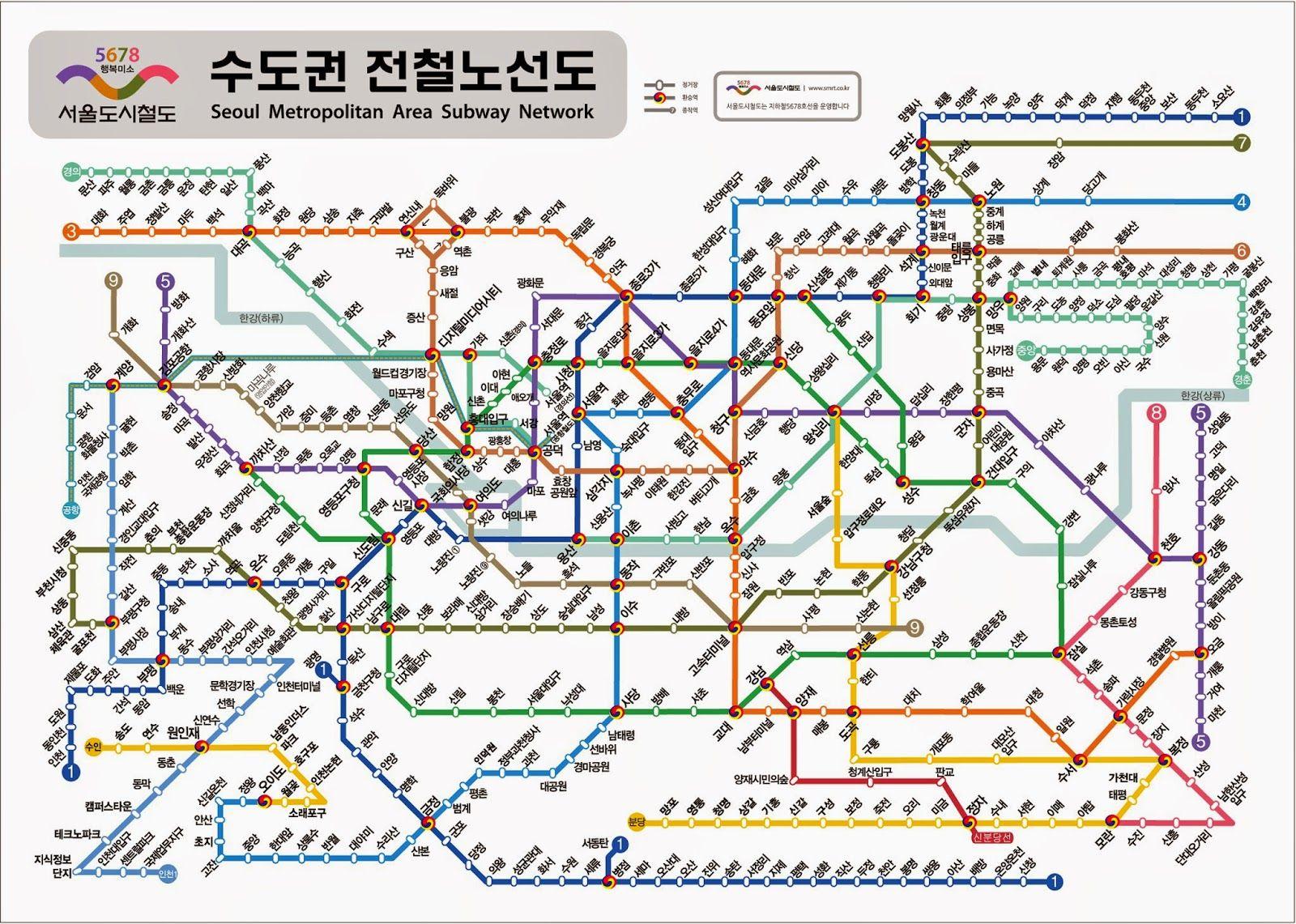 ssama's google blog: 서울 지하철 노선도