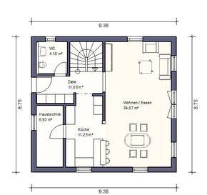grundrisse einfamilienhaus Klassischer Einfamilienhaus