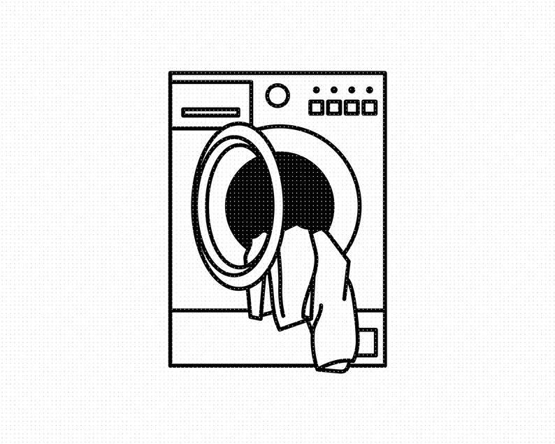 Washing Machine Svg Laundry Svg Washer Svg Laundry Machine Etsy Cute Sewing Projects Clip Art Washing Machine