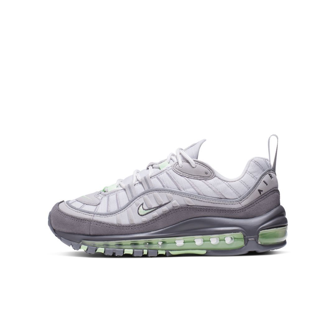 new style a58c2 1b953 Nike Air Max 98 Big Kids' Shoe Size 5Y (Vast Grey) in 2019 ...