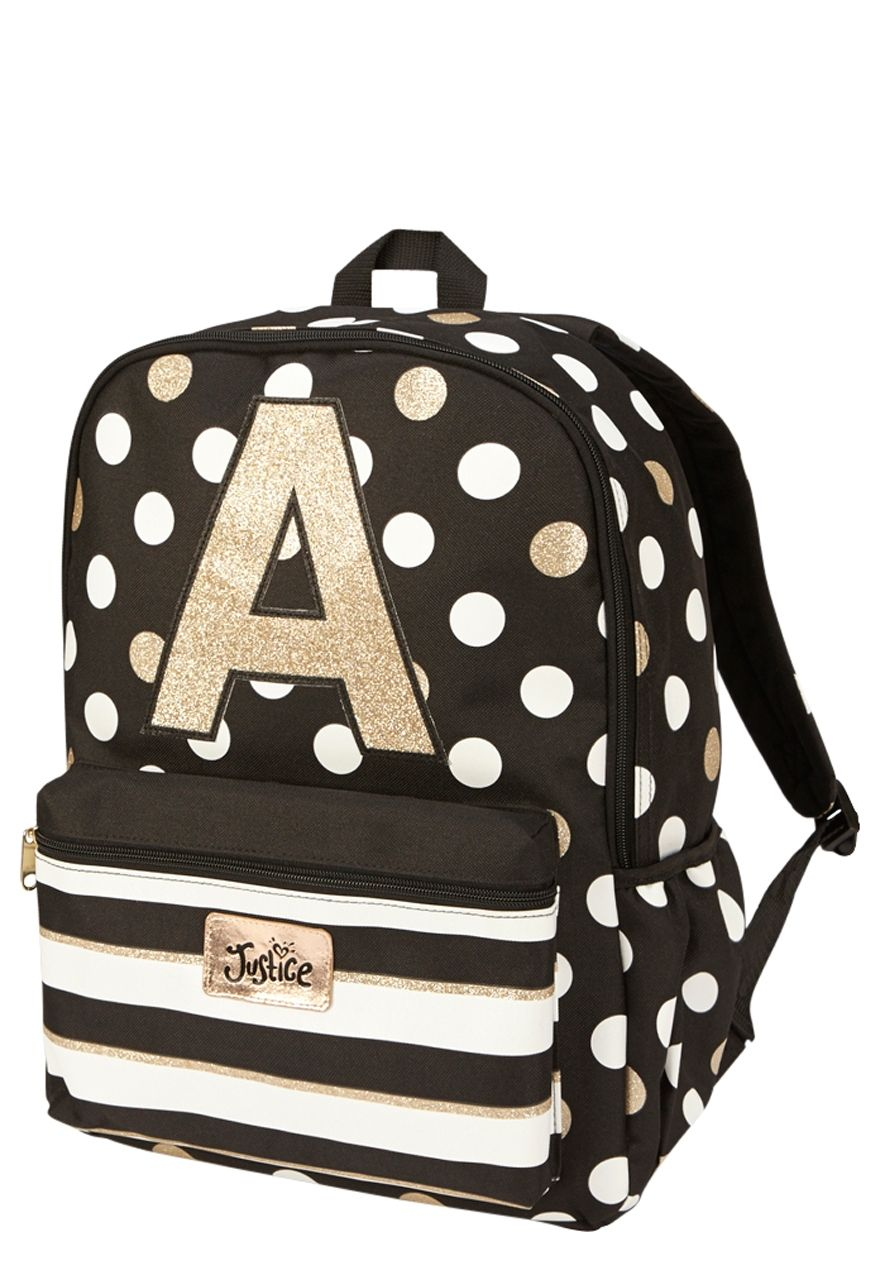 265584c15c9d Initial Polka Dot Backpack. Initial Polka Dot Backpack Girl Backpacks