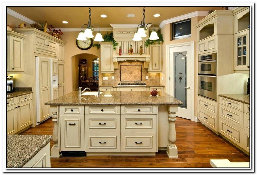 Antique Kitchen Remodel in 2020 | Antique white kitchen ...