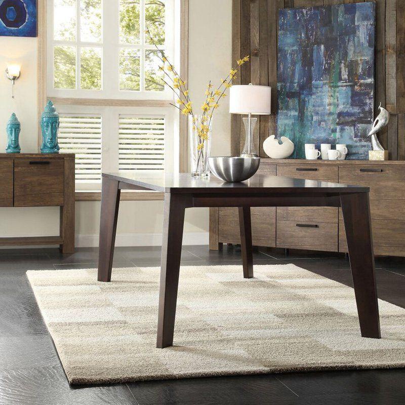 Homelegance Baxter Modern Angled-Leg Dining Table | from hayneedle.com