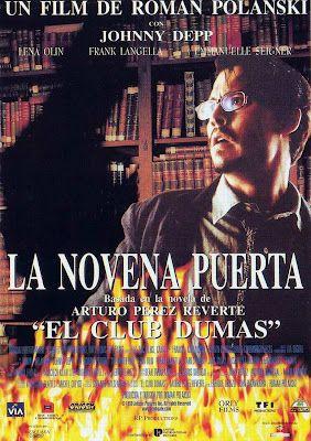 Pin De Lel Reine En Peliculas Online Latino Castellano Subtituladas La Novena Puerta Películas De Johnny Depp Peliculas Cine