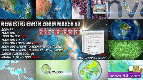 Videohive earth zoom pro after effects project motilia buy earth zoom pro kit by limxona on videohive you can zoom in or out a specific place or multiple places that you desire in the world very easily and gumiabroncs Images