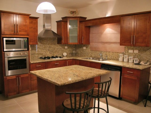 cocinas integrales modernas color chocolate - Buscar con Google - cocinas integrales modernas