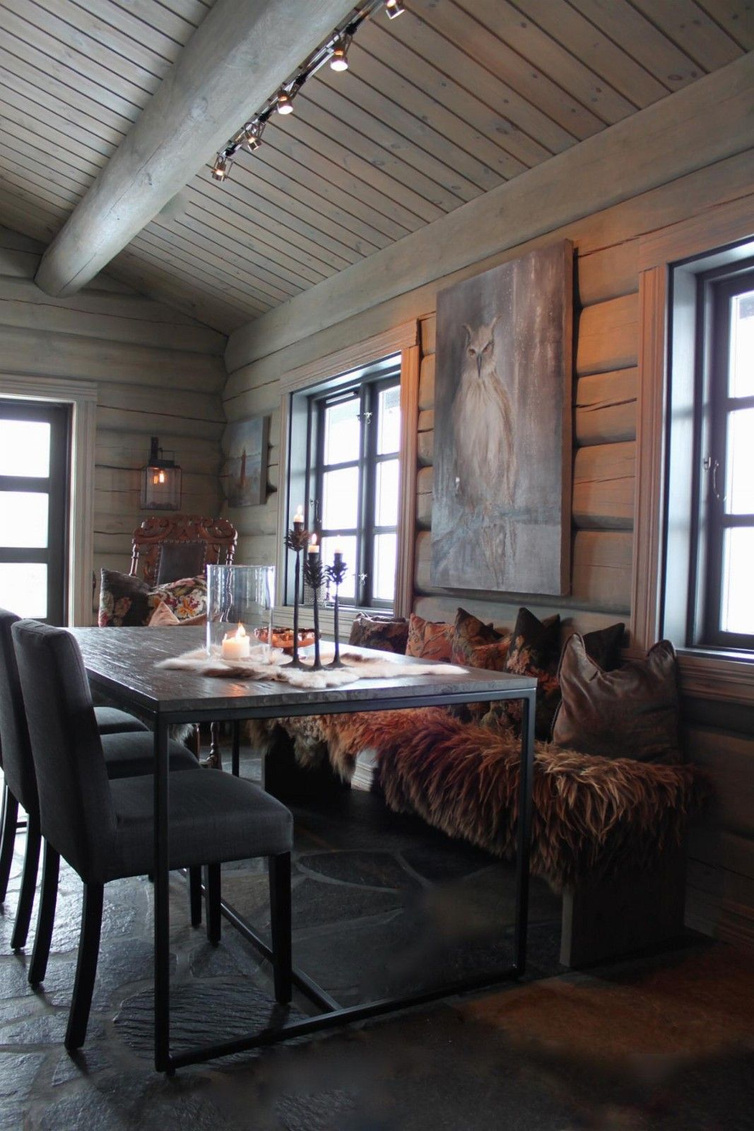 Norwegian mountain cabin