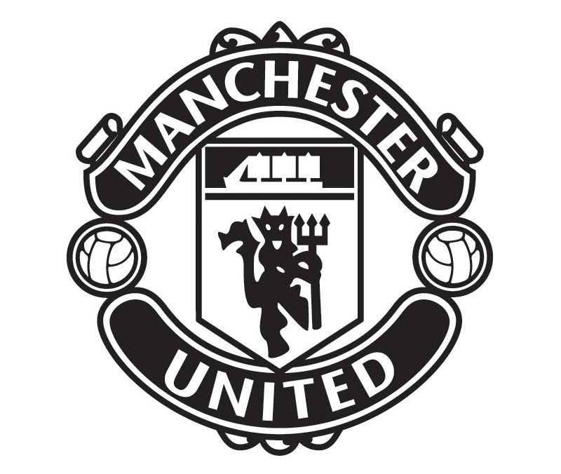 Font Of The Manchester United Logo Manchester United Logo The Unit Manchester United