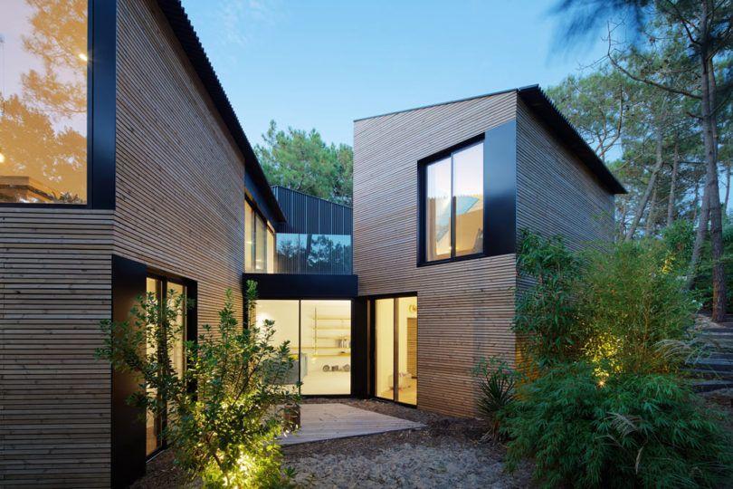 A Modern Holiday House Near Bordeaux, France - Design Milk