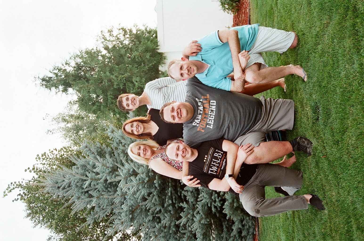 Our writing group, the Flying M-Inklings, is one of the biggest literary blessings in my life -- second only to being published! Cody Stauffer, Shannon Chastaine, Brandon McGarrah, Colby Stream, Nic Darlinton, and Katie Benke Wiese, I love you more than I loved being 125 pounds! And Lord knows that was a lot! One year behind us -- many, many, many more to go! I love doing LIFE with all of you! <3 <3 <3 <3 <3 <3 <3
