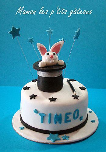 g teau anniversaire gar on th me magie cakes design pinterest gateau anniversaire gar on. Black Bedroom Furniture Sets. Home Design Ideas