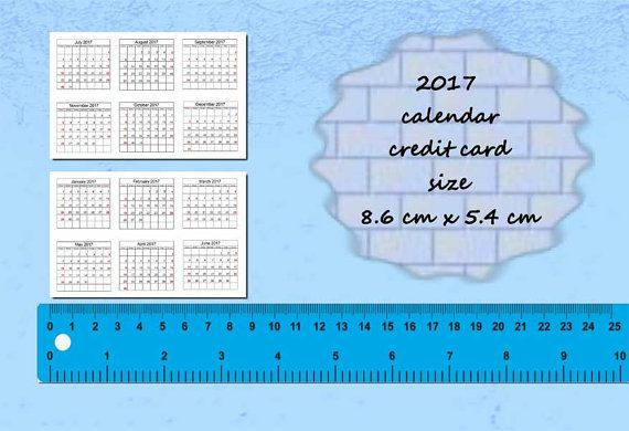 2018 2017 Calendar With The How Cucumber Decor Made Tutorial