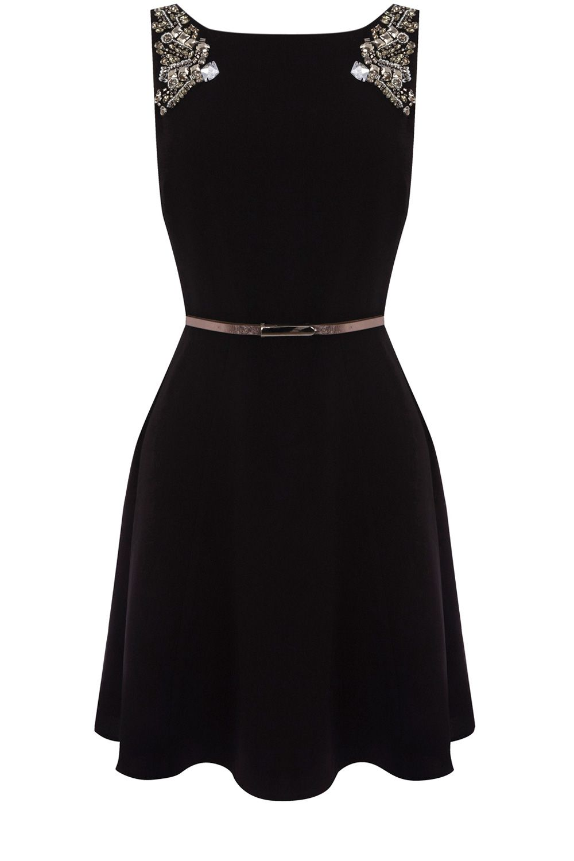 Lucia Embellished Dress / Oasis
