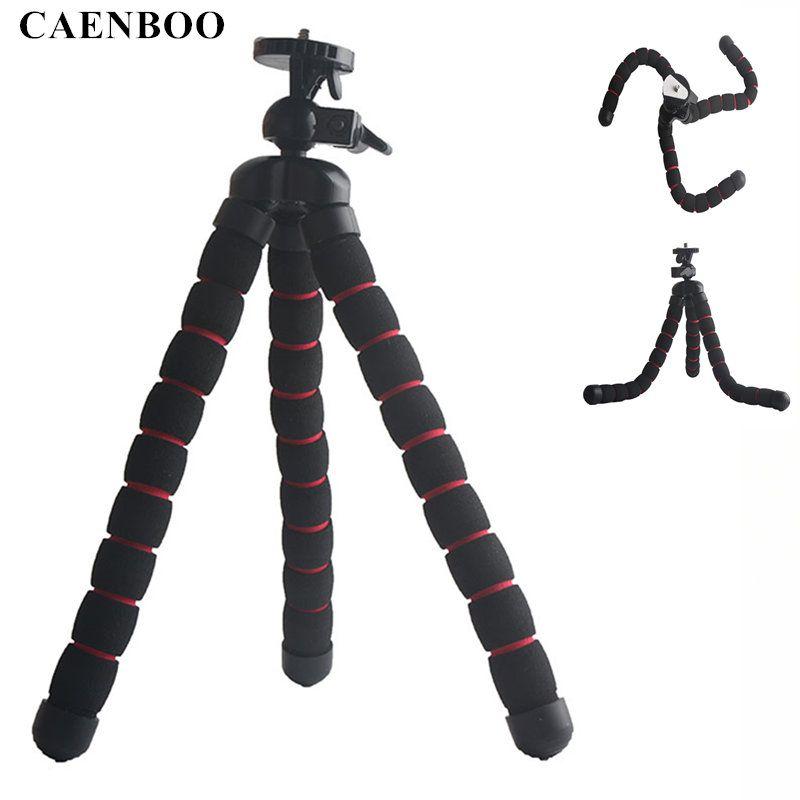 >> Click to Buy << CAENBOO Universal Flexible Tripod Camera Octopus Monopod Portable Mount Tripod For Canon Nikon Mini DV Stand Max 1KG Digital  #Affiliate