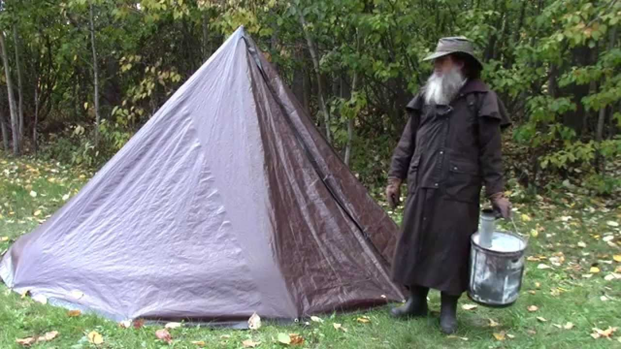 Tent stove & Turn Your Tarp Tent Into a Hot Tent - Stove Installation | Ships ...