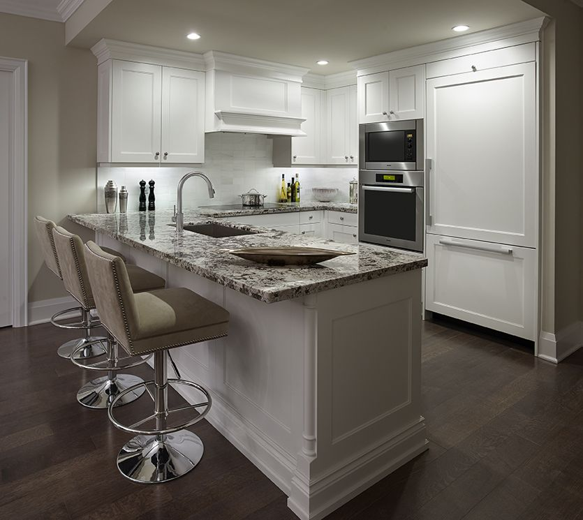 Huntington Kitchen: The Kitchen In A Blythwood At Huntington Model Suite