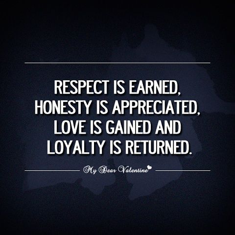 30 Best Collection Of Honesty Quotes Picpulp Loyalty Quotes Appreciation Quotes Respect Is Earned