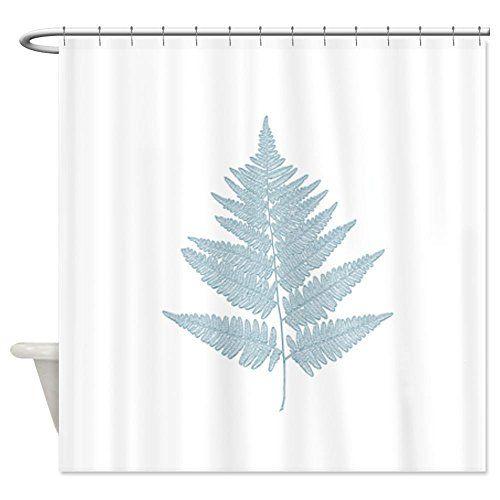 Cafepress Fern Shower Curtain Decorative Fabric Shower Curtain