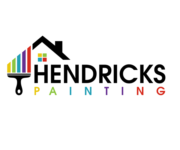 hendricks painting logo design creative graphics pinterest rh pinterest com painting logo images painting logos for free