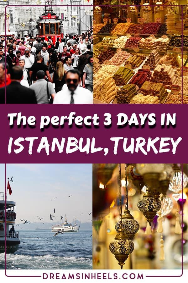 3 days in Istanbul Itinerary: Best places to visit in Istanbul in only 3 days #historyoftheworld