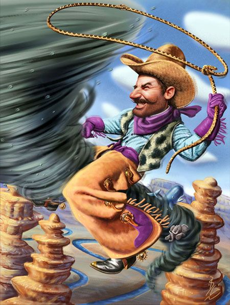 Pecos Bill! Ride that ...