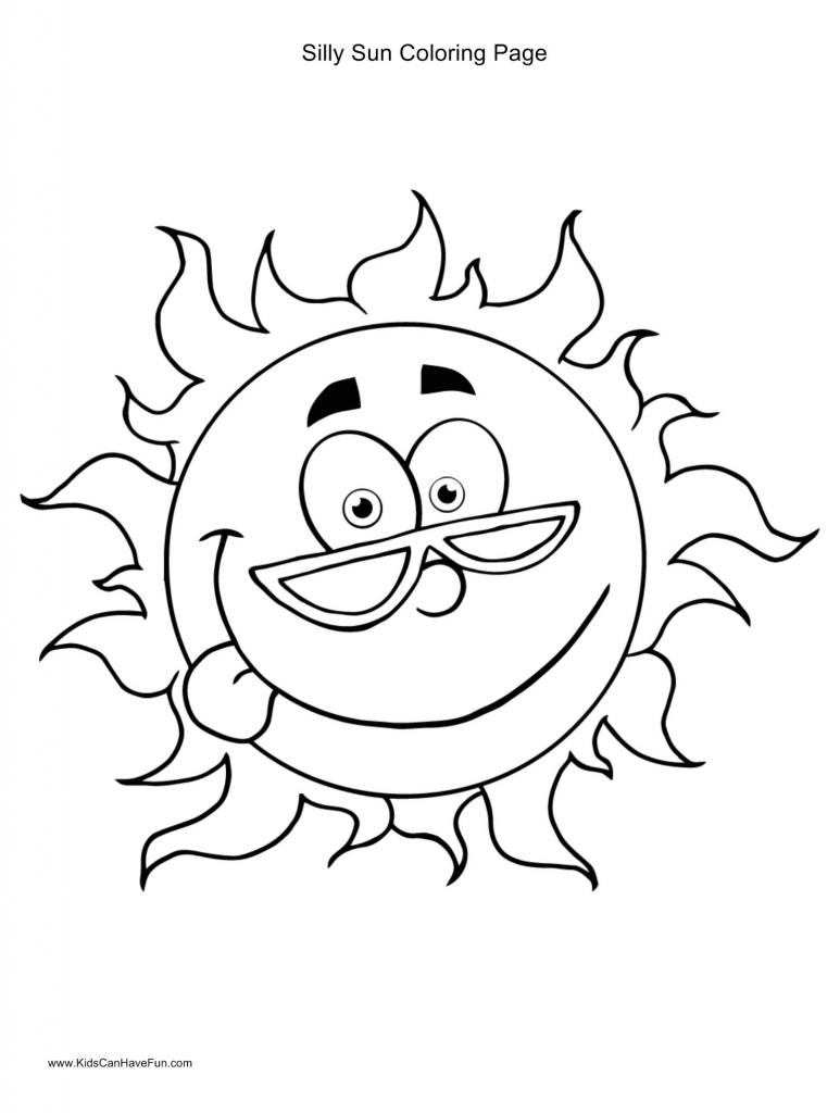 Sunmer Coloring Pages | ФОНЫ солнышко | Pinterest