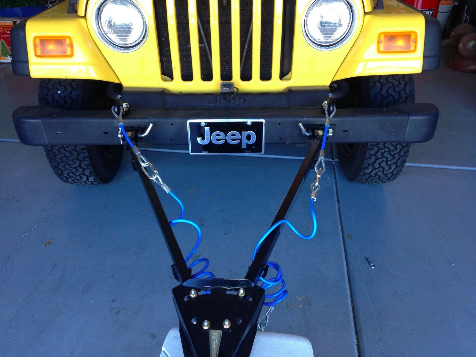 Mello Mike S Overland Adventures Tj Jeep Wrangler Flat Tow System Jeep Wrangler Jeep Slide In Truck Campers