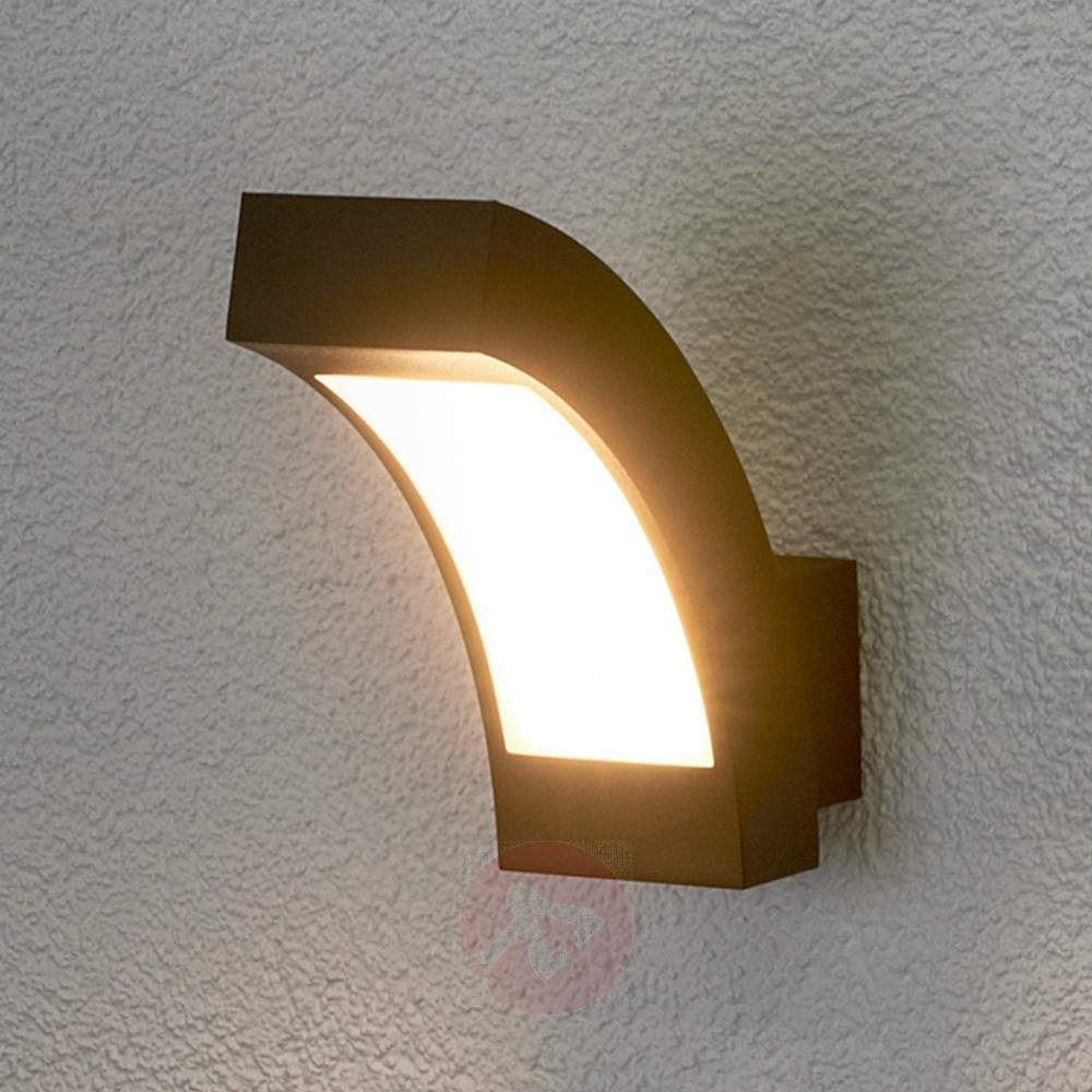 Led-außenwandleuchte Rachel Lennik Led Exterior Wall Lamp Ip54 63 90 From Lights Co