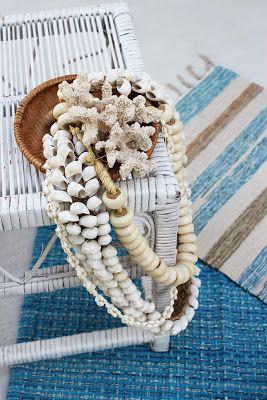 Sea shells & coral necklaces
