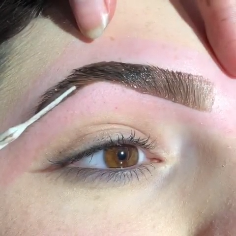 BROW WAXING & COLORING TRANSFORMATION #eyebrows #browswaxing  #naturalbrows