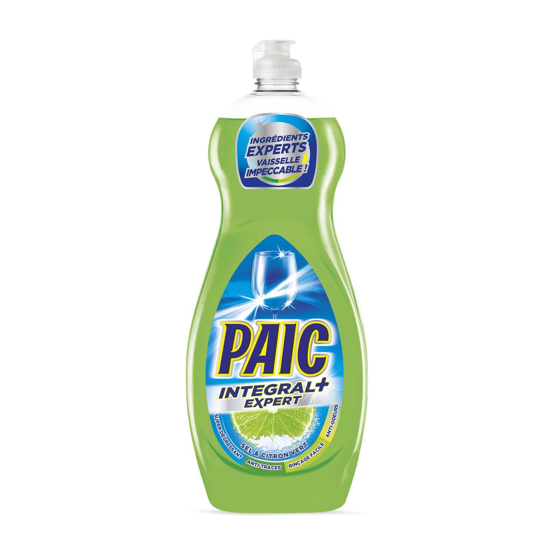 Liquide Vaisselle Integral Expert Parfum Sel Citron Vert Paic