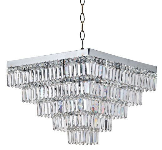 AS-M007/40 Square Crystal Chandelier