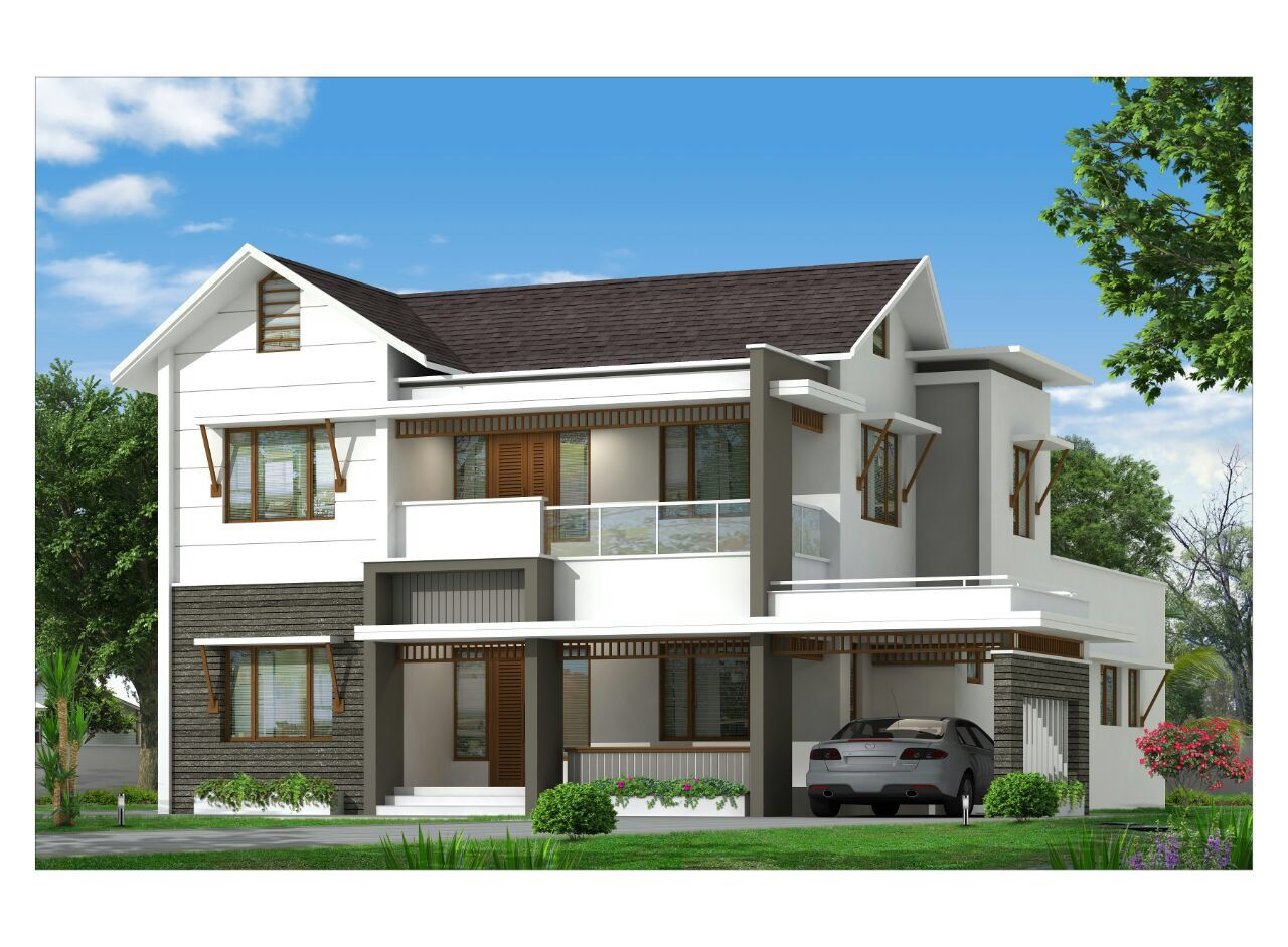Kerala modern house adorn builders and developers also pin by  on rh in pinterest